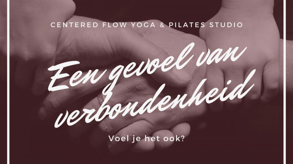 yoga gevoel van verbondenheid
