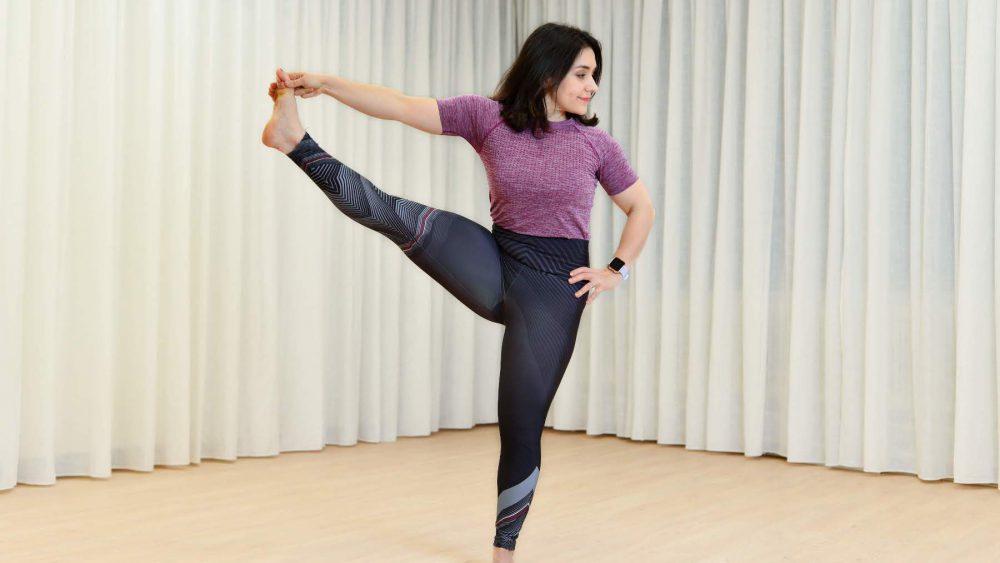 girl power yoga utthitahasta padangusthasana